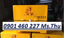 Chuyên sản xuất thùng giao hàng sau xe máy,có dán decal theo yêu cầu
