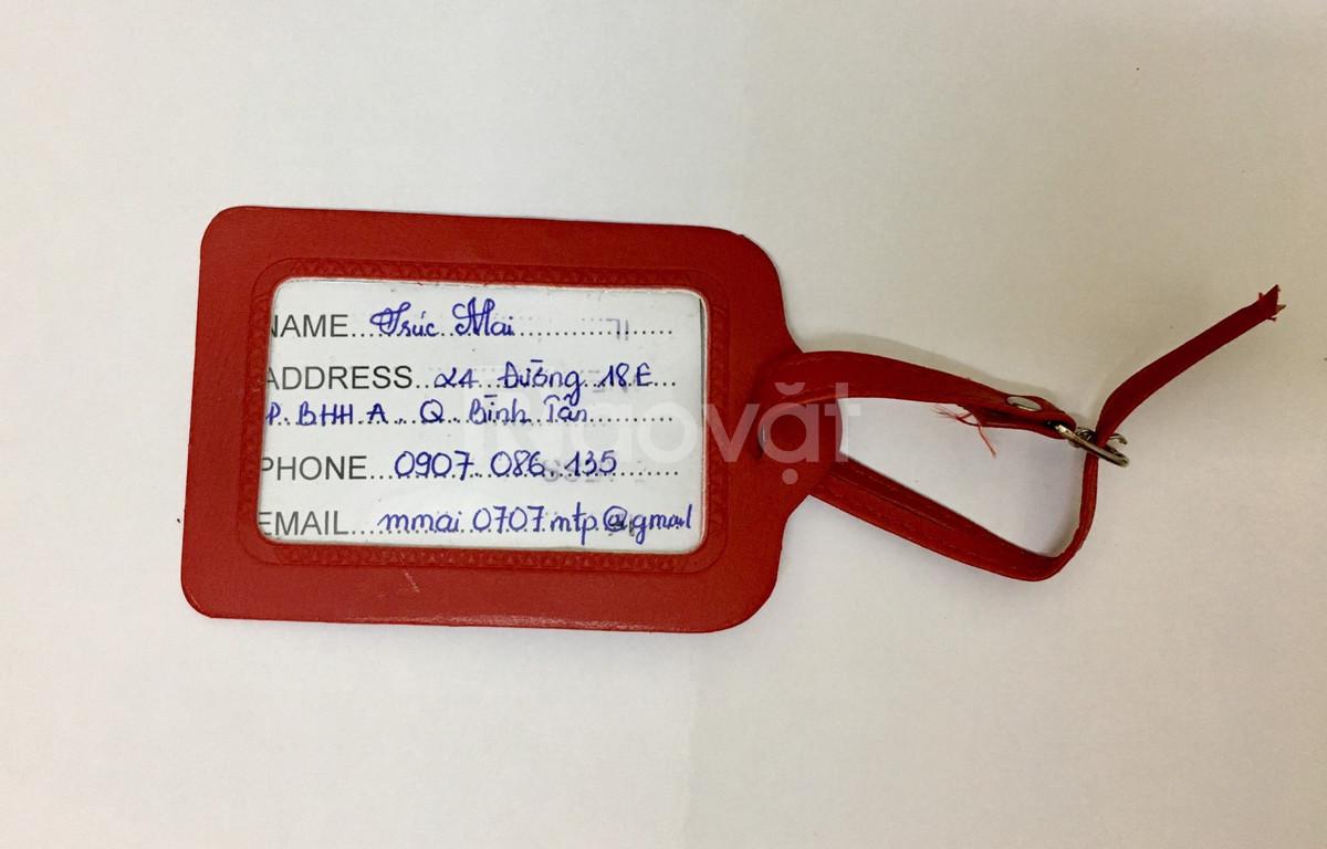 Sản xuất bap da hộ chiếu, ví name card, thẻ đeo bảng tên, móc khóa da