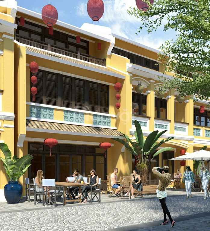 Homeland paradise Village - mặt tiền sông cổ cò - shophouse 3 tầng