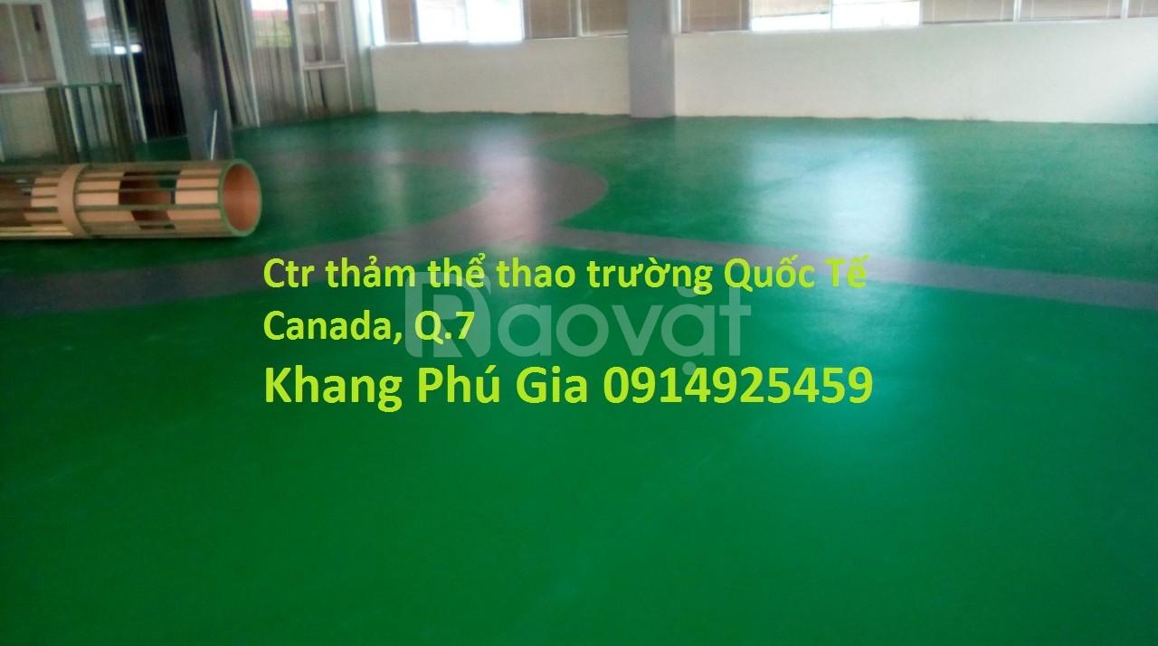 Thảm sàn thể thao đa năng Eco Sport Floor giá rẻ thị trường