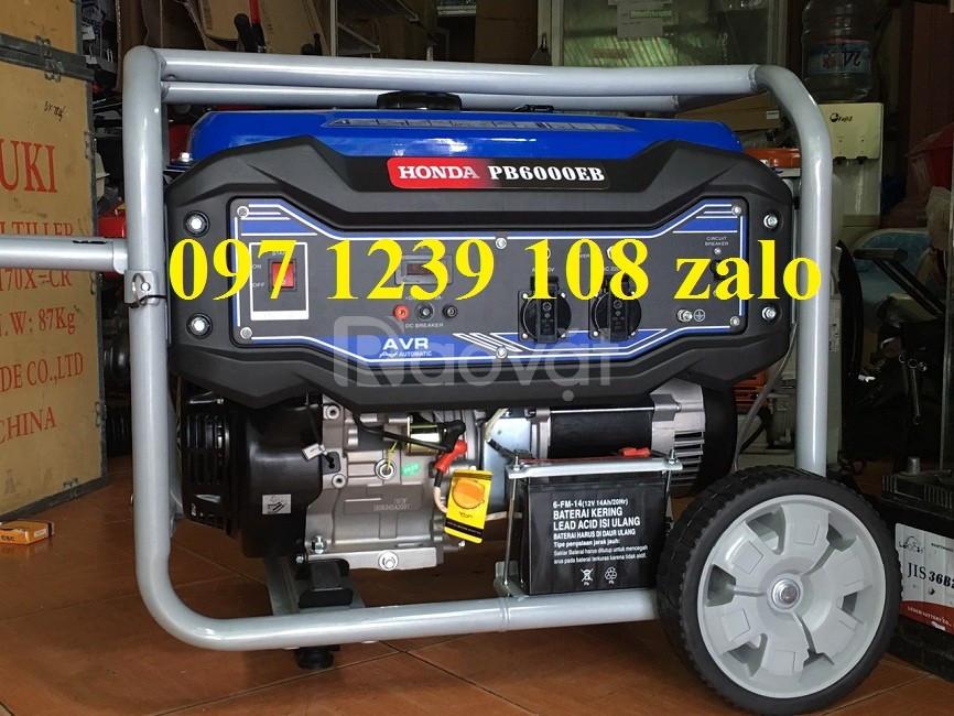 Máy phát điện chạy xăng 5KW Honda PB6000B giao hàng ngay
