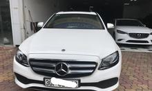 Mercedes Benz E class E250 trắng, sx 2017 đăng ký lần đầu 12/2017