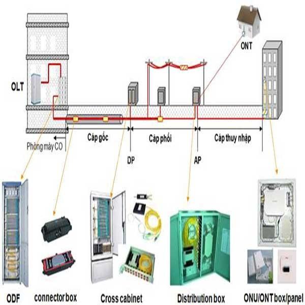 Thiết bị quang chính hãng: Converter quang, switch quang, module quang
