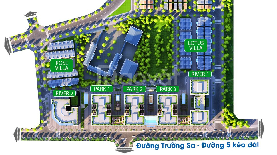 Bán lại 3 căn ngoại giao Shophouse dự án Eurowindow River Park