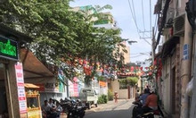 Bán nhà Nguyễn Văn Đậu, BT, 59m2, 3 tầng, hẻm thông, giá 4.4tỷ