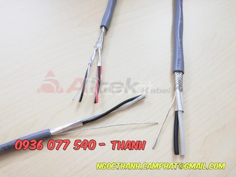 Cáp tín hiệu 1P 18AWG Shield, hiệu Altek Kabel