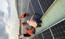 Lăp đặt điện mặt trời cho dự án nhà máy