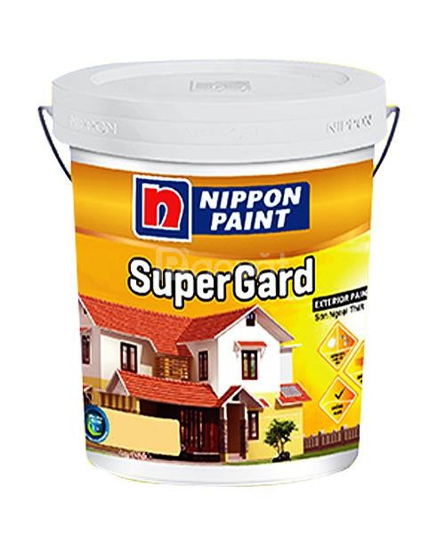 Sơn nước Nippon Super Gard ngoại thất chiết khấu cao cho công trình