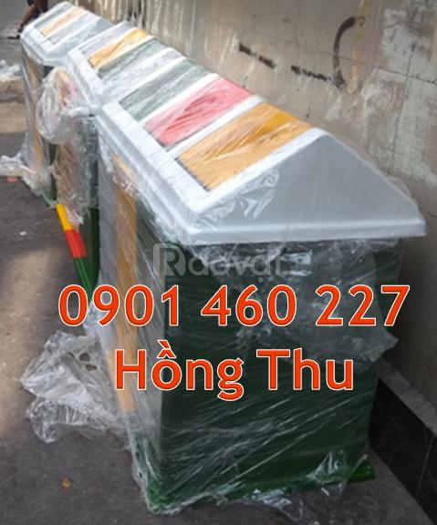Công ty sản xuất thùng rác công cộng 60 lít, tổng hợp thùng rác 60 lít