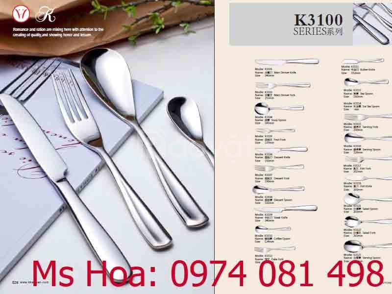 Cung cấp bộ dao thìa dĩa giọt lệ nhà hàng
