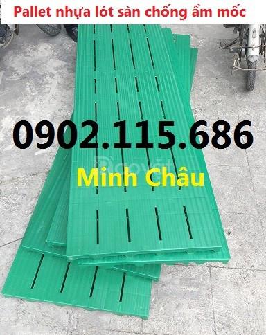 Pallet nhựa lót sàn, tấm lót sàn bằng nhựa