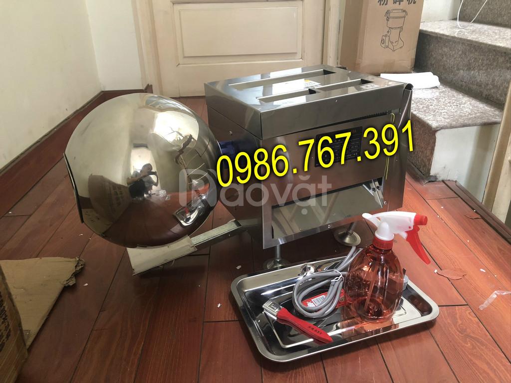 Máy làm bánh nhãn, máy vo viên hoàn đông y 8-10kg/h (ảnh 3)