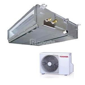 Tư vấn & lắp đặt máy lạnh giấu trần nối ống gió Toshiba 5HP