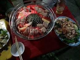 Bếp nướng than hoa inox không khói Nam Hồng BN300 bếp nướng để bàn