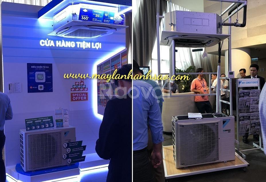 Máy lạnh âm trần Daikin Inverter fcfc40dvm 1.5hp giá rẻ