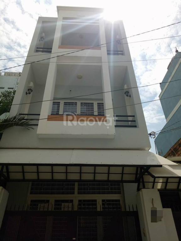 Nhà bán Phan Văn Trị, Quận Bình Thạnh, 4,6x11, 4 lầu, hẻm 6m, 6,3 tỷ