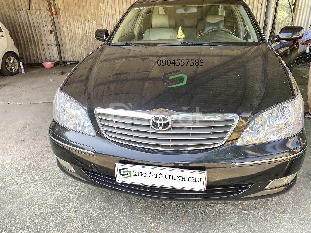 Chính chủ bán xe Toyota Camry 2.4G 2002