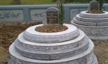 Mẫu mộ tròn đá, mẫu mộ tròn đá đẹp, mẫu mộ tròn đá xanh khối