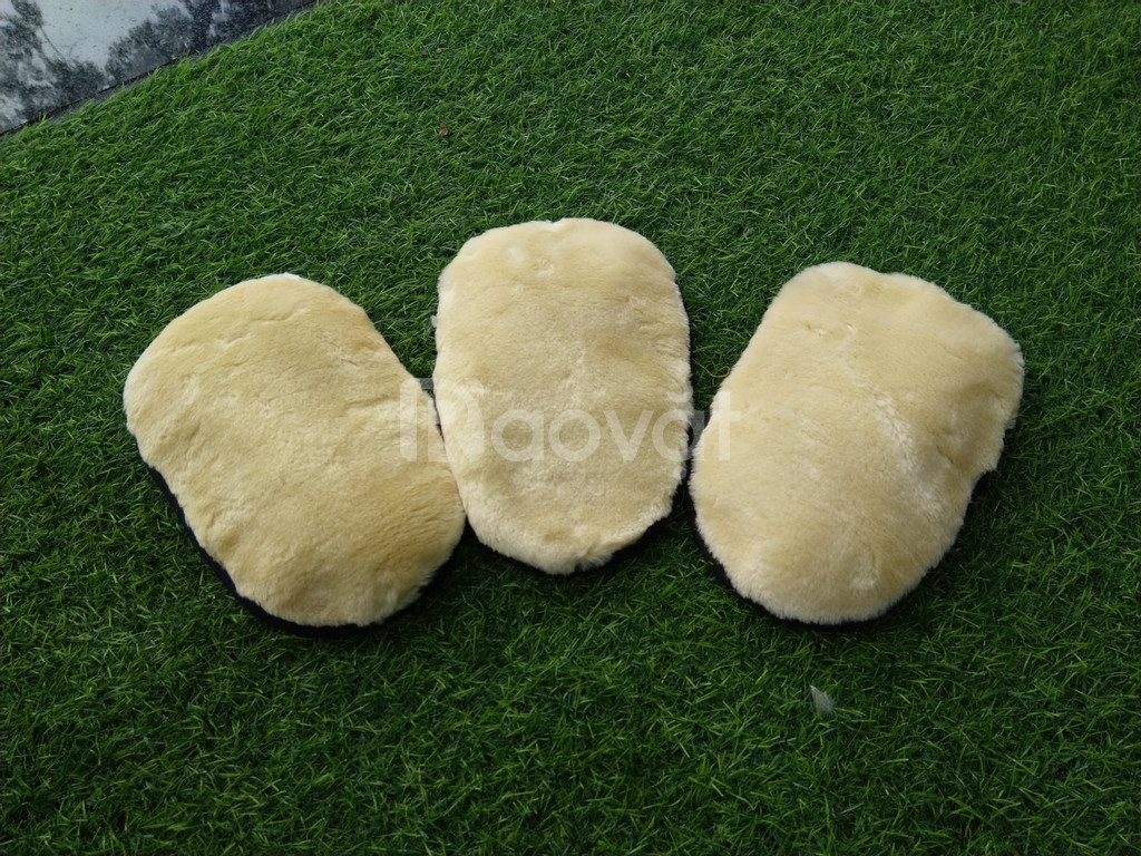 Bàn xoa lông cừu rửa xe oto