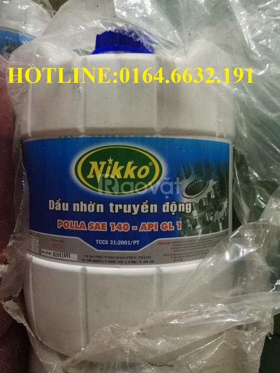 Dầu nhờn truyền động Nikko SAE 140 API GL1-18L