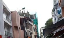 Bán nhà Pháo Đài Láng mặt ngõ to hơn mặt phố, vỉa hè, lô góc, thang máy chờ, 56m x 5 tầng
