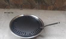 Bếp nướng âm bàn vỉ nướng gang chống dính cao cấp cho quán lẩu nướng