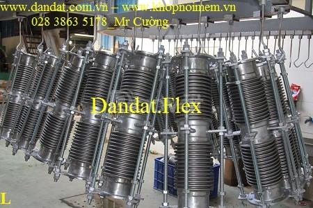 Ống xả khói máy phát điện, bô xả inox 304, ống bô chống rung inox