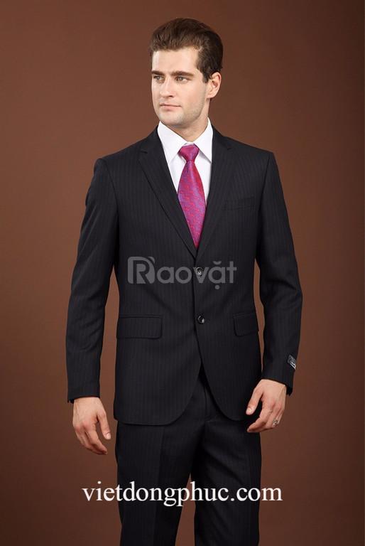 Địa chỉ may đo vest nam công sở chuẩn dáng người mặc