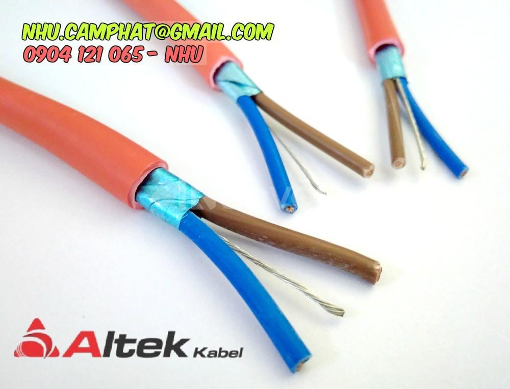 Đại lý cáp chống cháy vỏ bọc lszh hiệu altek kabel