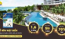 Edna Resort chỉ  1tỷ6 sở hữu lâu dài, view trực diện biển