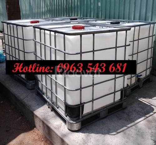 Tank nhựa 1000 lít đựng thực phẩm, bồn nhựa 1000 lít đựng thực phẩm