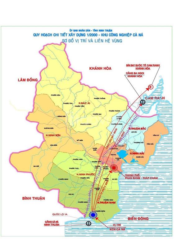 Đất nền ven Biển Cà Ná - Ninh Thuận giá 868 TR