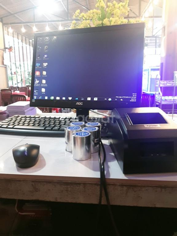 Bán máy tính tiền Tại Huế cho quán ăn -quán nhậu -nhà hàng