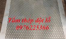 Tấm kim loại đột lỗ nhận sản xuất theo yêu cầu
