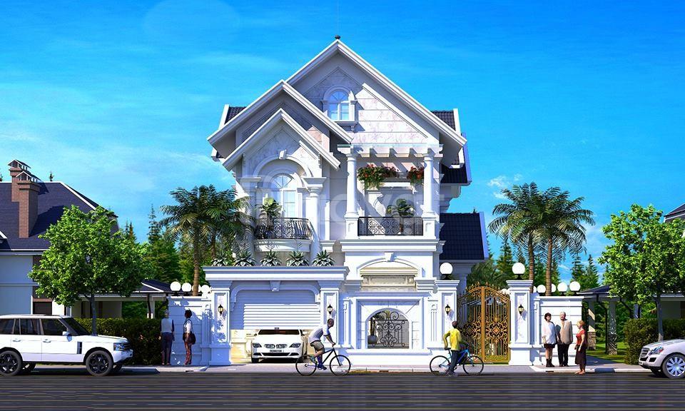 Báo giá xây dựng biệt thự tại Bình Phước
