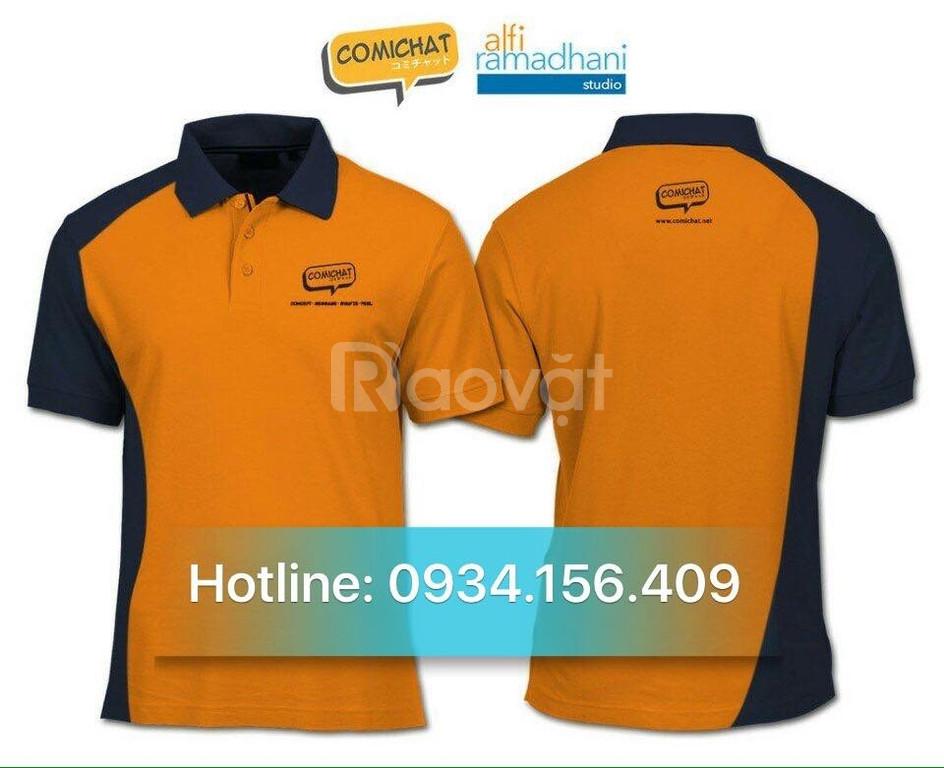 Nhận may áo thun đồng phục nhân viên công ty ở Bình Dương