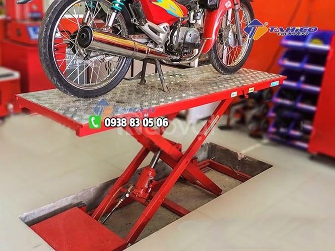 Bàn nâng sửa xe máy 190kg