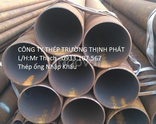 Thép ống đúc phi 140, ống sắt nhập khẩu phi 140mm, sắt ống phi 140