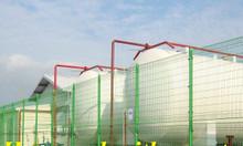 Lưới thép hàng rào mạ kẽm, hàng rào sơn tĩnh điện gập hai đầu