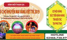 Hội chợ khuyến mại vàng Việt Trì 2019