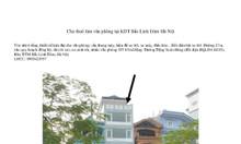 Cho thuê làm văn phòng tại KĐT Bắc Linh Đàm-Hà Nội