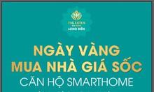 Mua nhà tại dự án TSG Lotus Sài Đồng chỉ từ 600tr căn hộ 72m2