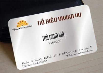 Homax chuyên in thẻ VIP card, thẻ bảo hành... giá rẻ (ảnh 1)