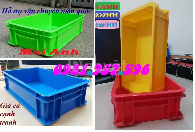 Khay nhựa đặc, hộp nhựa đựng linh kiện, thùng nhựa đựng phụ tùng