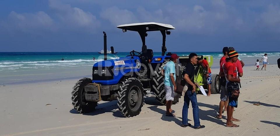 Xe dọn rác bãi biển hiện đại xuất xứ Mỹ