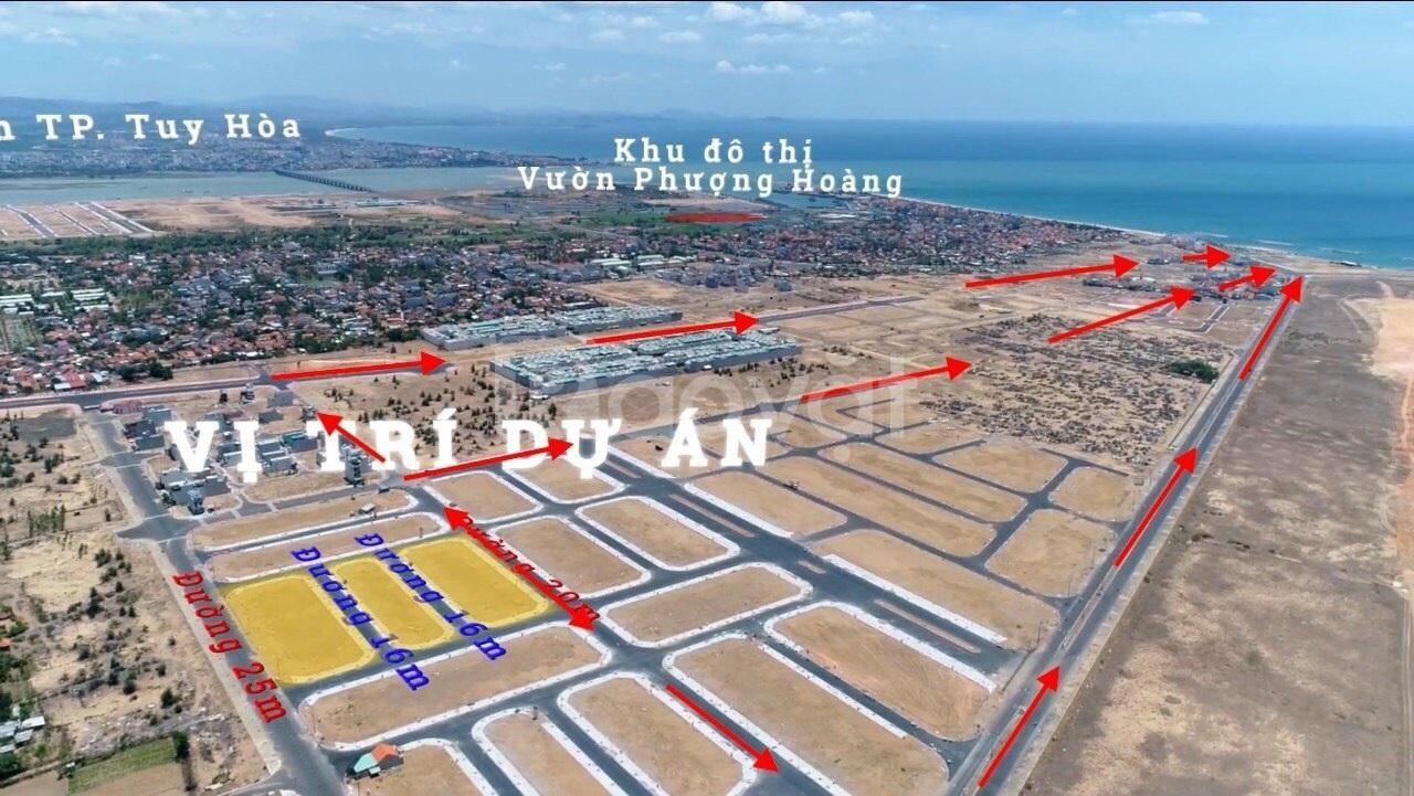 Lô LK đấu giá tại Tuy Hòa, đất view biển giá đầu tư