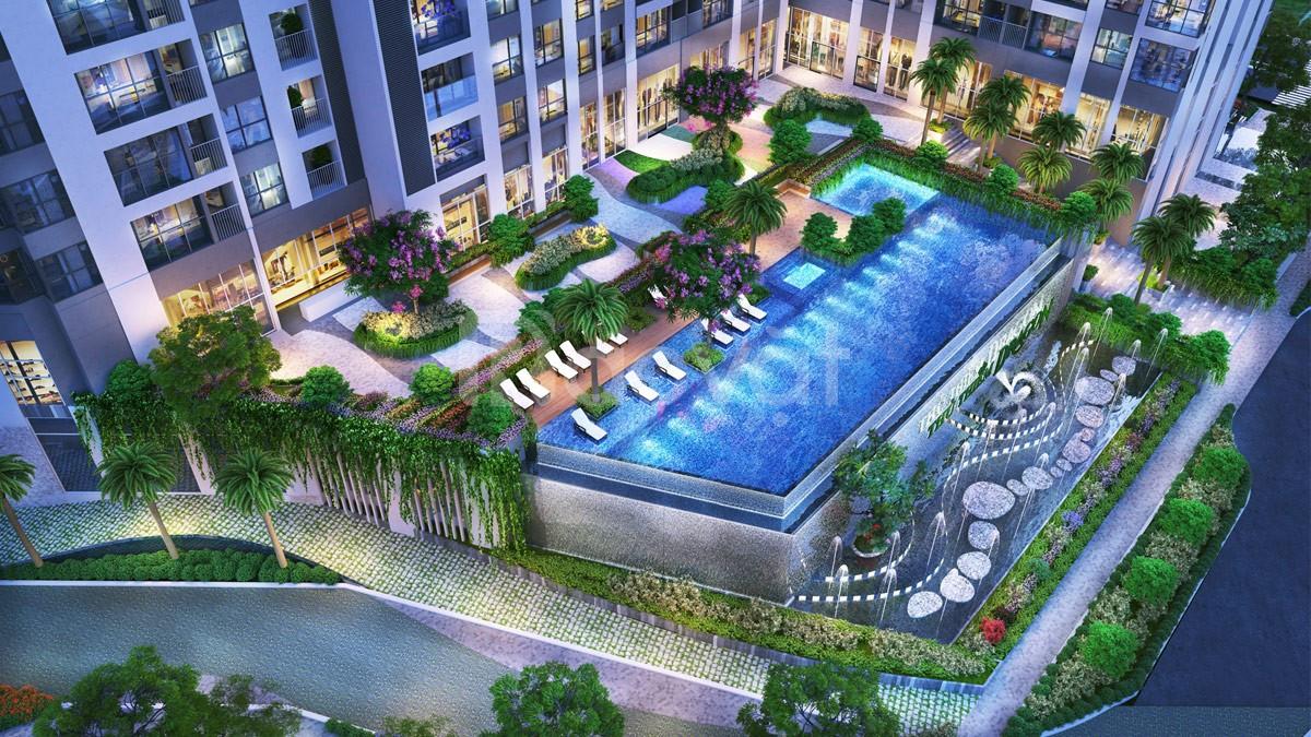 Bán căn hộ Thủ Thiêm Dragon tầng 12, 80m2, căn góc, view sông trọn đời