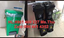 Công ty nhựa Mỹ Kỳ chuyên sản xuất thùng rác y tế 20 lít,15 lít