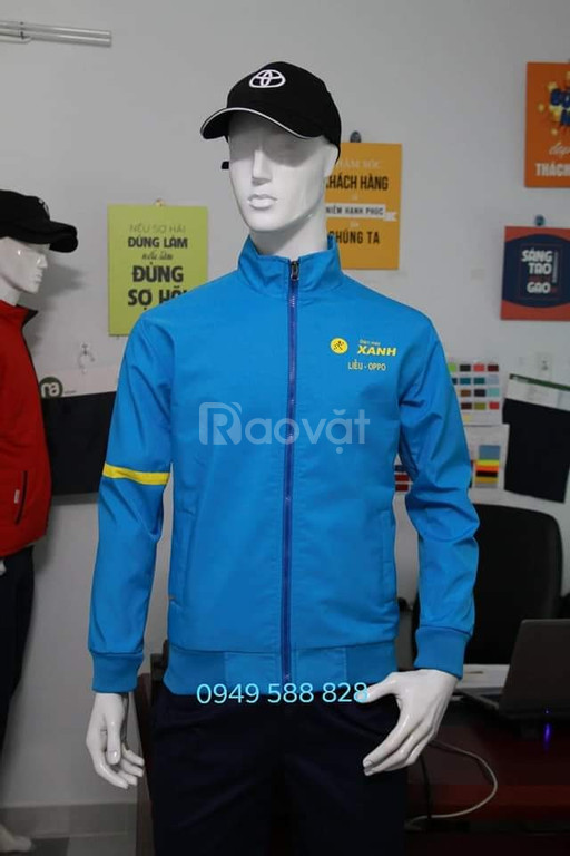 Xưởng may áo khoác, áo gió uy tín giá cả cạnh tranh tại Gia Lai