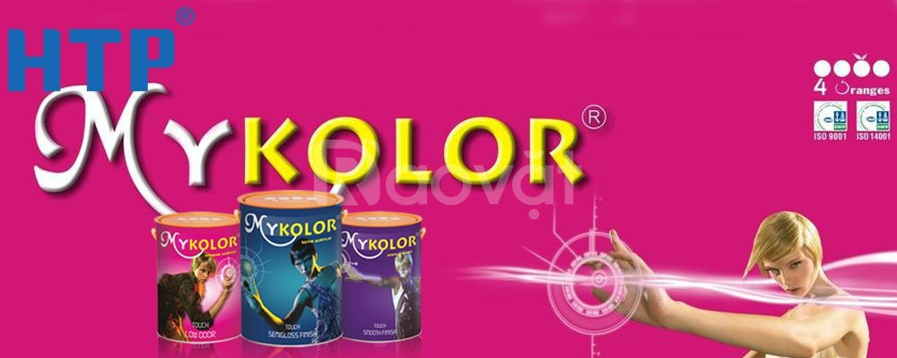 Địa chỉ bán sơn nước nội thất Mykolor Classic Finish